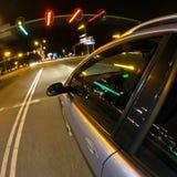 lampor som stoppar trafik Fotografering för Bildbyråer