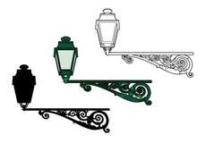 lampor två stock illustrationer