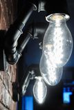 Lamporna från vattenrören Royaltyfria Bilder
