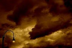 lampost monica santa стоковое изображение rf