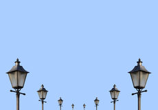 Lamposts Royalty Free Stock Photography