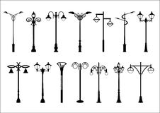 Lamposts fourteen Royalty Free Stock Photography