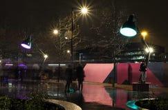 Lampounette Lumiere伦敦 免版税库存图片