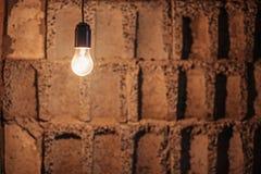 Lampowa żarówka. Fotografia Royalty Free