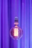 Lampowa żarówka Zdjęcia Royalty Free