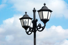 lampowa latarniowa ulica Zdjęcia Stock