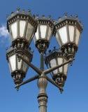 lampowa stara ulica Zdjęcie Royalty Free
