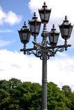 lampowa ulica Obraz Royalty Free
