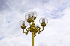 lampowa ulica Zdjęcie Royalty Free