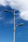 lampowa ulica Obrazy Stock