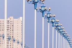 lampowa ulica Fotografia Stock