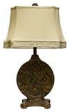 lampowego cienia stół Zdjęcia Royalty Free