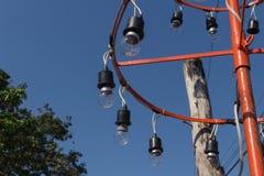 Lampowej żarówki grupa Obrazy Royalty Free