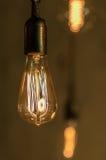 Lampowy Edison Obrazy Stock