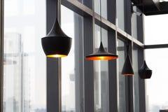 Lampowy wnętrze domu projekt Fotografia Stock