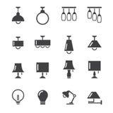 Lamppictogram Stock Fotografie