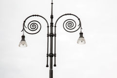 Lamppost στη Φλωρεντία Στοκ εικόνες με δικαίωμα ελεύθερης χρήσης