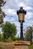 Lamppost στο πάρκο Στοκ φωτογραφίες με δικαίωμα ελεύθερης χρήσης