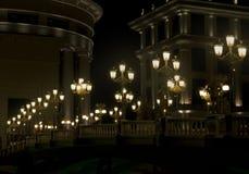 LAMPPOST ΦΩΣ Στοκ Εικόνα