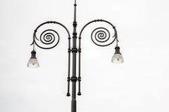 Lamppost в Флоренсе Стоковые Изображения RF