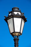 Lamppost. Pretty lamppost with the blue sky stock images