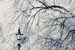 Lamppost Arkivfoto