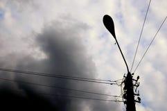Lamppost fotografia de stock