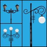 lamppost stock de ilustración