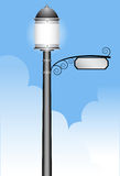 Lamppost. An image of an elegant lamppost Royalty Free Stock Photo
