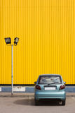 Lamppost and car Stock Images