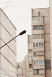 Lamppost in city Royalty Free Stock Image