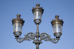 Lamppost on Connell Bridge, Dublin Stock Photography