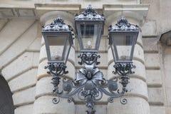 Lamppost in Dresden Stock Photo