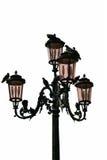 Lamppost e pombos Imagem de Stock Royalty Free
