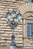 Lamppost in Florence Stock Photography