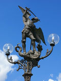 Lamppost Ghent Zdjęcie Royalty Free