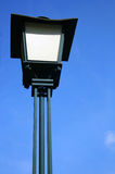 Lamppost in Guimaraes. Blue sky and lamppost of Guimaraes, Portugal Stock Photography
