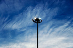 Lamppost In The Sky Stock Photography