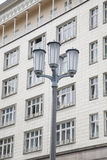 Lamppost on Karl Marx Allee, Berlin, Germany Stock Photos