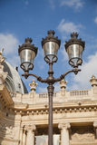 Lamppost at the Louvre - Paris Royalty Free Stock Photos