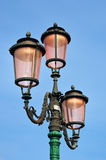 Lamppost from murano glasses Stock Photography