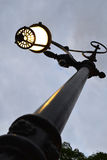 Lamppost. In a park in the evening Royalty Free Stock Images