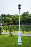 Lamppost in the Park. stock images