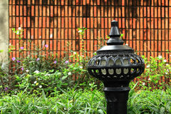 Lamppost in the Park Royalty Free Stock Images