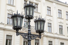 Lamppost in Riga Royalty Free Stock Photography