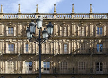 Lamppost. Salamanca Royalty Free Stock Photo