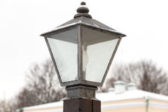Lamppost on the street Stock Image