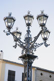 Lamppost in Ubeda; Andalusia Royalty Free Stock Photos