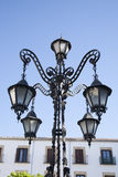 Lamppost in Ubeda Royalty Free Stock Image