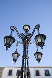 Lamppost in Ubeda, Andalusia Stock Image